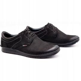 Kampol Casual men's shoes 11/3 black nubuck 3
