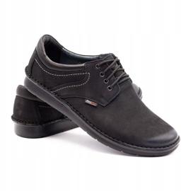 Kampol Casual men's shoes 11/3 black nubuck 5