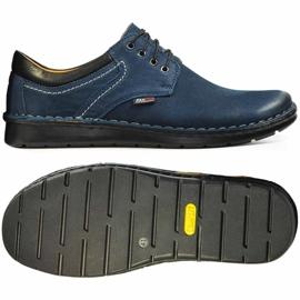 Kampol Men's casual shoes 11/54 navy blue 2