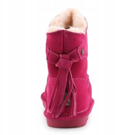 Bearpaw Mia Toddler Jr.2062T-671 Pom Berry Shoes pink 5