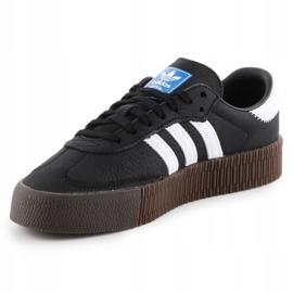 Adidas Sambarose W B28156 shoes white black 2