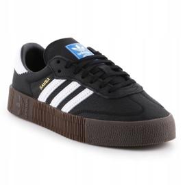 Adidas Sambarose W B28156 shoes white black 3