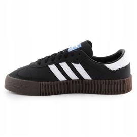Adidas Sambarose W B28156 shoes white black 4