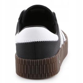 Adidas Sambarose W B28156 shoes white black 5