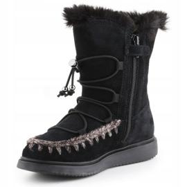 Geox J Thymar GB Jr J944FB-00022-C9999 winter shoes brown blue 2