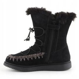 Geox J Thymar GB Jr J944FB-00022-C9999 winter shoes brown blue 4