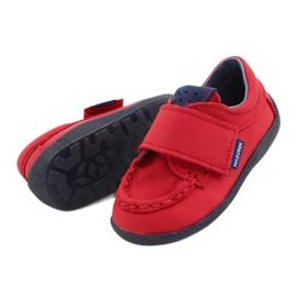 Mazurek Red Velcro Loafers 113 navy blue 2