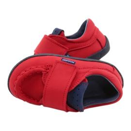 Mazurek Red Velcro Loafers 113 navy blue 4
