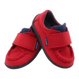 Mazurek Red Velcro Loafers 113 navy blue 3