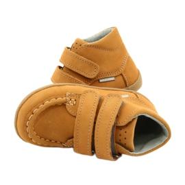 Mazurek Mazurka Loafers With Velcro Camel 127 yellow 4