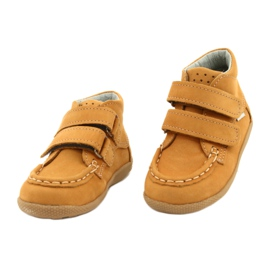 Mazurek Mazurka Loafers With Velcro Camel 127 yellow 1