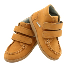 Mazurek Mazurka Loafers With Velcro Camel 127 yellow 3