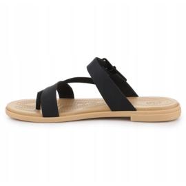 Crocs Tulum Toe Post Sandal W 206108-00W black 4