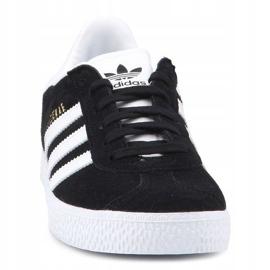 Adidas Gazelle C Jr BB2507 shoes black blue 1