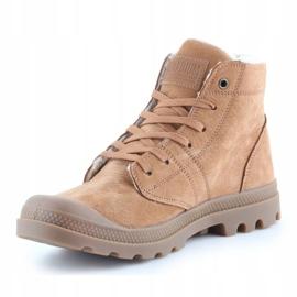 Shoes Palladium Plbrs Mahogany M 05981-257-M brown 2