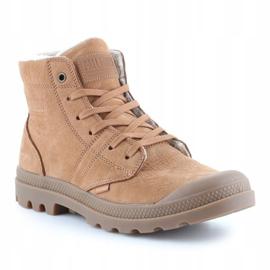 Shoes Palladium Plbrs Mahogany M 05981-257-M brown 3