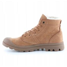 Shoes Palladium Plbrs Mahogany M 05981-257-M brown 4