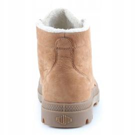 Shoes Palladium Plbrs Mahogany M 05981-257-M brown 5