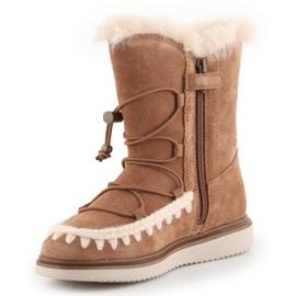 Geox J Thymar GB Jr J944FB-00022-C6627 shoes brown blue 2