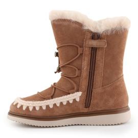 Geox J Thymar GB Jr J944FB-00022-C6627 shoes brown blue 4