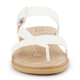 Crocs Tulum Toe Post Sandal W 206108-1CQ white 1