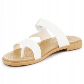 Crocs Tulum Toe Post Sandal W 206108-1CQ white 2