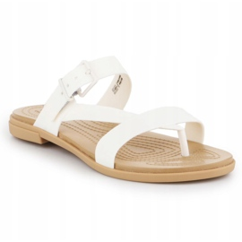 Crocs Tulum Toe Post Sandal W 206108-1CQ white 3