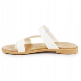 Crocs Tulum Toe Post Sandal W 206108-1CQ white 4