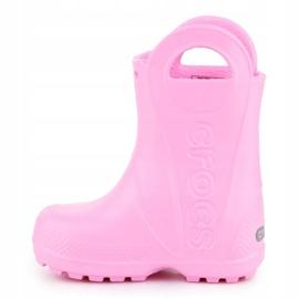 Crocs Handle It Rain Boot Kids 12803-612 pink 4