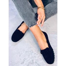Black Women's loafers GS11P Black 3