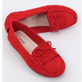 Red Women's loafers red GS11P Red 1