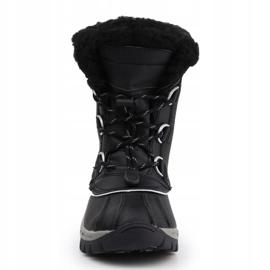 BearPaw Jr 1871Y Black Gray Shoes 1