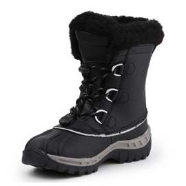 BearPaw Jr 1871Y Black Gray Shoes 2