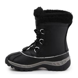 BearPaw Jr 1871Y Black Gray Shoes 4