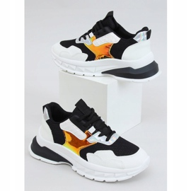 Black and white sports shoes BH003 Black 1