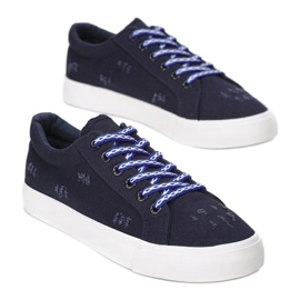 Vices 8402-13 Blue navy blue 1