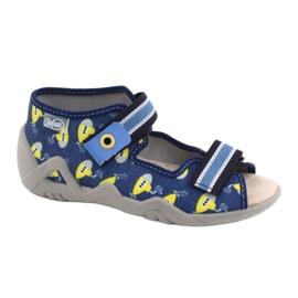 Befado yellow children's shoes 350P020 blue 1