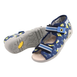 Befado yellow children's shoes 350P020 blue 3