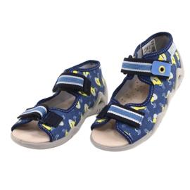 Befado yellow children's shoes 350P020 blue 2