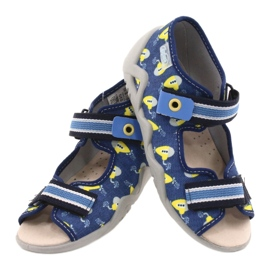 Befado yellow children's shoes 350P020 blue 4