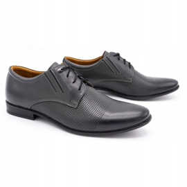Formal shoes 482 gray grey 1