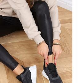 Black KK-219 Black sports shoes 1
