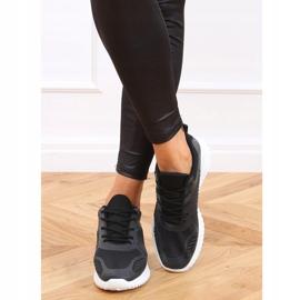 Black KK-219 Black sports shoes 2