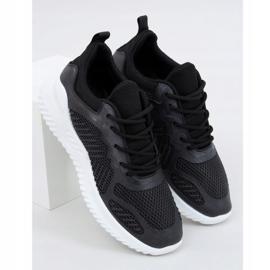 Black KK-219 Black sports shoes 3