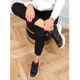 Black FF-8 Black sports shoes 2