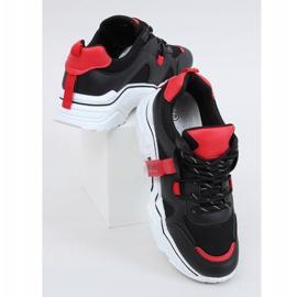 Black FF-8 Black sports shoes 3