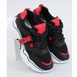 Black FF-8 Black sports shoes 4
