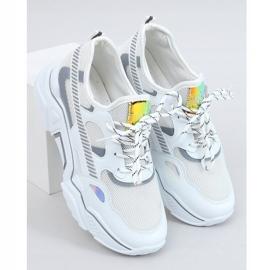 White sports shoes FF-2 White 3