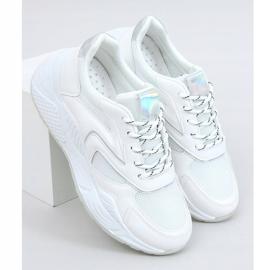 White GB-003 White sports shoes 3