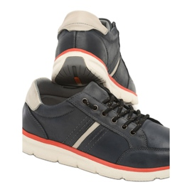 Casual men's shoes Vices SD63-13 Navy 41 46 beige blue 1